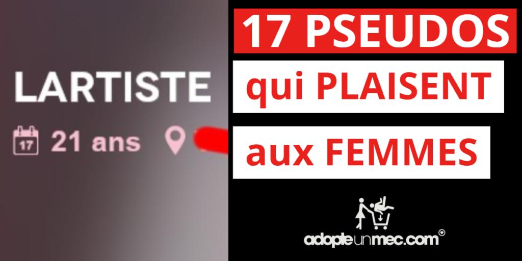 pseudo feminin site de rencontre